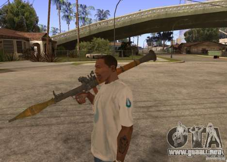 El RPG-7 para GTA San Andreas tercera pantalla