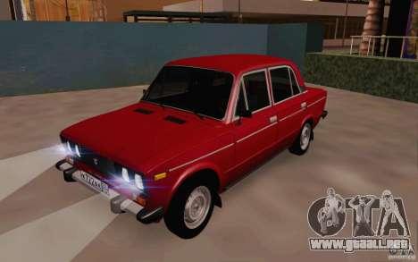 Drenaje 2106 VAZ para GTA San Andreas left