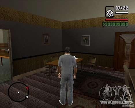 Sustitución de la CJeâ casa entera para GTA San Andreas novena de pantalla