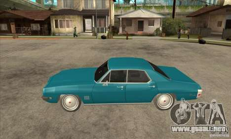 Pontiac LeMans para GTA San Andreas left