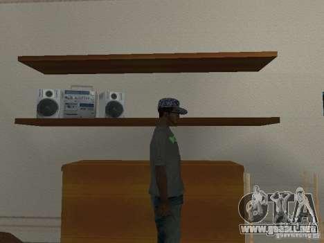 Noize Mc Tee para GTA San Andreas tercera pantalla