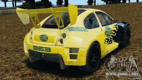 Colin McRae Hella Rallycross para GTA 4 Vista posterior izquierda