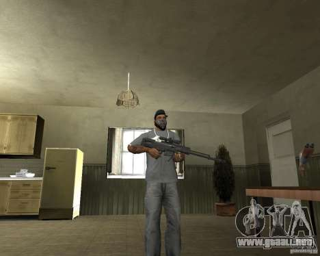 Rifle AS 50 para GTA San Andreas