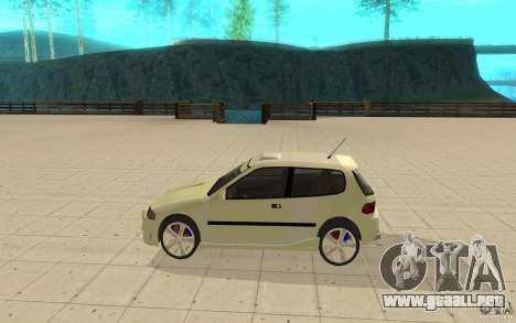 Honda Civic 1992 para GTA San Andreas left