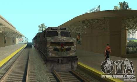 Tren de Camo para GTA San Andreas left