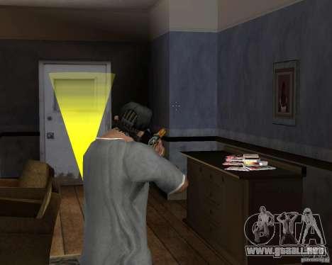 Escopeta M511 para GTA San Andreas tercera pantalla