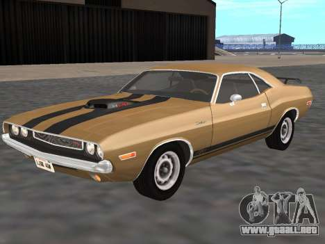 Dodge Challenger 440 Six Pack 1970 para GTA San Andreas