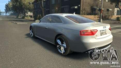 Audi S5 1.1 para GTA 4 left