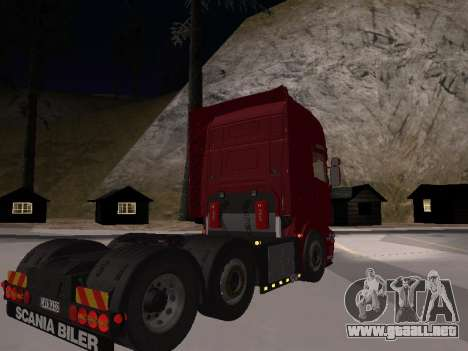 Scania 460 para GTA San Andreas left