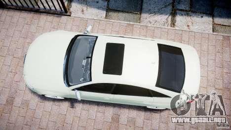 Audi RS6 2010 para GTA 4 visión correcta