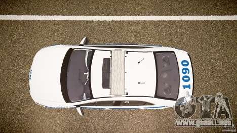 Honda Accord Type R NYPD (City Patrol 1090) ELS para GTA 4 visión correcta