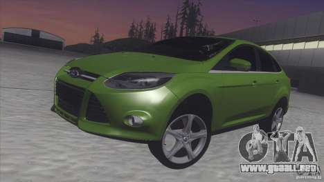 Ford Focus sedan para GTA San Andreas