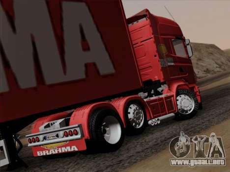 Scania R620 Brahma para la visión correcta GTA San Andreas