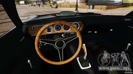 Plymouth Cuda 1971 [EPM] Mopar para GTA 4 vista hacia atrás