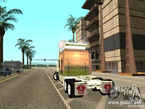 Kenworth W900 para GTA San Andreas left