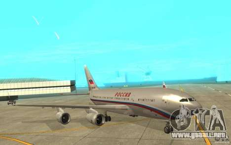 El IL-96-300 STC Rusia para GTA San Andreas left