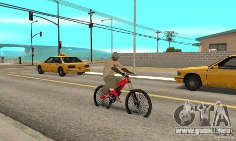 BMX nueva para la visión correcta GTA San Andreas