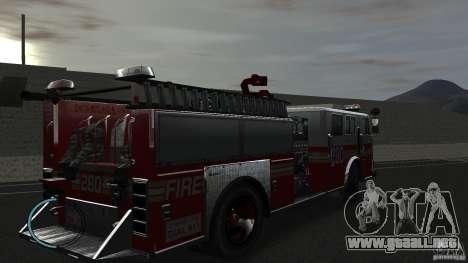 NEW Fire Truck para GTA 4 visión correcta