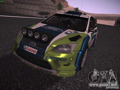 Ford Focus RS WRC 2006 para GTA San Andreas