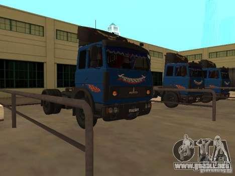 MAZ 5432 YAMZ-238b 4 x 2 para GTA San Andreas