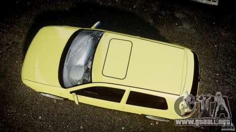 Volkswagen Golf IV R32 para GTA 4 vista hacia atrás