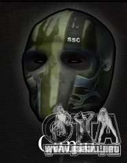 Army of Two Mask Camo para GTA San Andreas