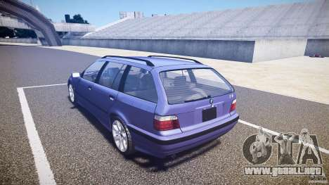 BMW 318i Touring para GTA 4 Vista posterior izquierda