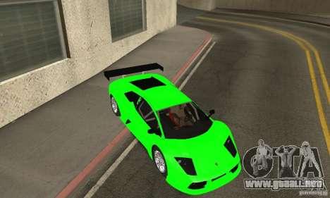 Lamborghini Murcielago R GT para vista inferior GTA San Andreas