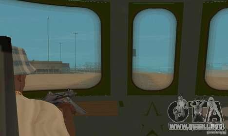 Custom Graffiti Train 1 para GTA San Andreas vista hacia atrás