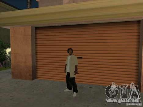 Snoop Dogg Ped para GTA San Andreas segunda pantalla