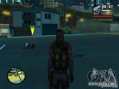 Mercenario acosador en la nueva kombeze para GTA San Andreas