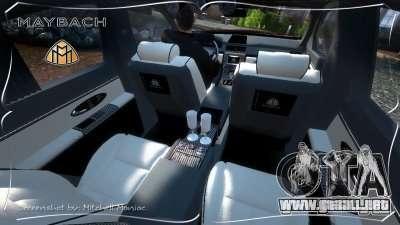 Maybach 57S para GTA 4 visión correcta