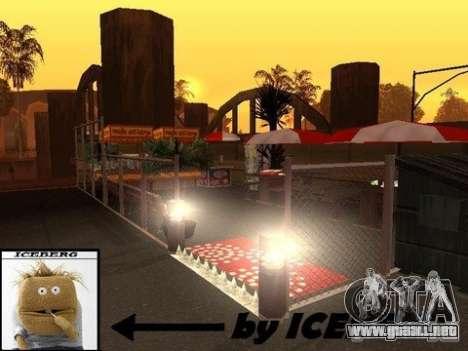 Nev Groove Street 1.0 para GTA San Andreas quinta pantalla