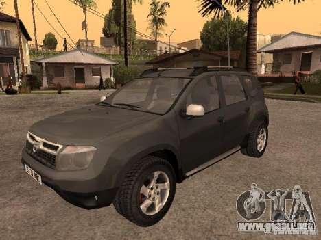 Dacia Duster para GTA San Andreas vista posterior izquierda