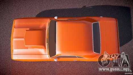 Dodge Challenger v1.0 1970 para GTA 4 visión correcta
