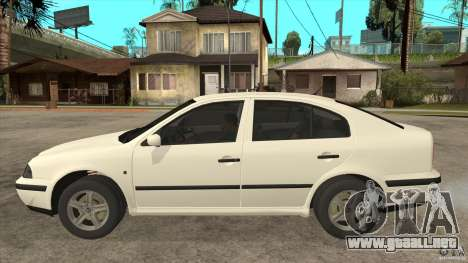 Skoda Octavia 1997 para GTA San Andreas left