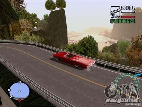 ENB Series v1.5 Realistic para GTA San Andreas octavo de pantalla