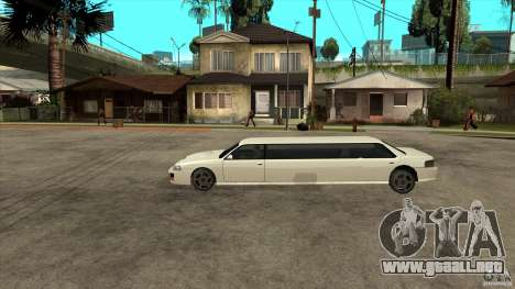 Limusina sultán para GTA San Andreas left