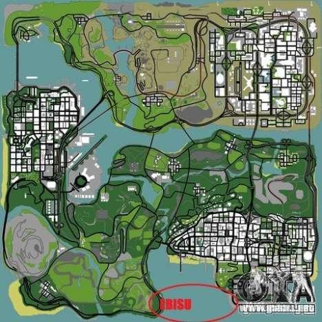 The Ebisu South Circuit para GTA San Andreas décimo de pantalla
