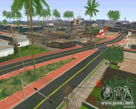 Nuevas texturas de Los Santos para GTA San Andreas tercera pantalla
