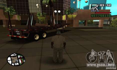 Semi artict2 para GTA San Andreas left