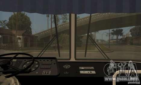 LAZ 699R (98-02) para visión interna GTA San Andreas