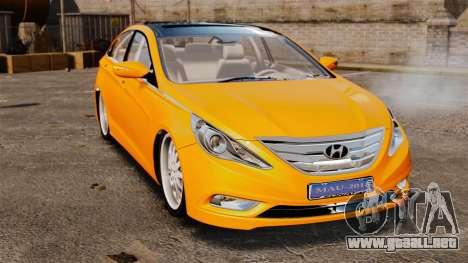 Hyundai Sonata 2011 v2.0 para GTA 4