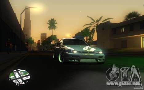 Nissan Silvia S14 para la vista superior GTA San Andreas