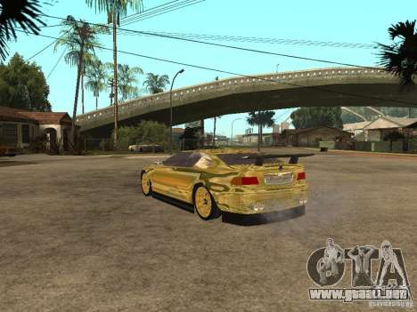 BMW M3 Goldfinger para GTA San Andreas left