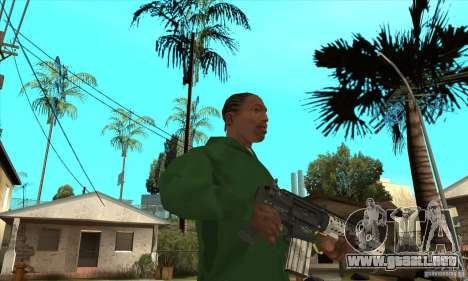 Culata M4 para GTA San Andreas segunda pantalla