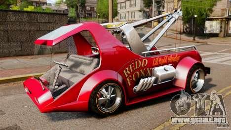 Lil Redd Wrecker para GTA 4 left