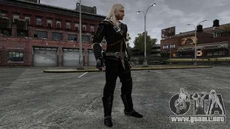 Geralt de Rivia v7 para GTA 4 quinta pantalla
