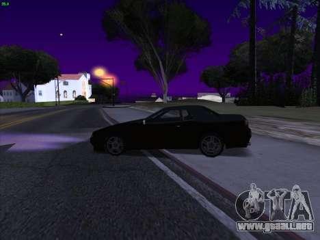 Elegy S13 para GTA San Andreas vista posterior izquierda