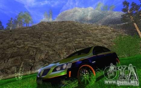 Awesome HD Graphic ENB Setts para GTA San Andreas